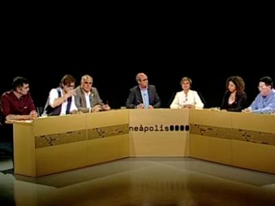 Debat electoral a Canal Blau